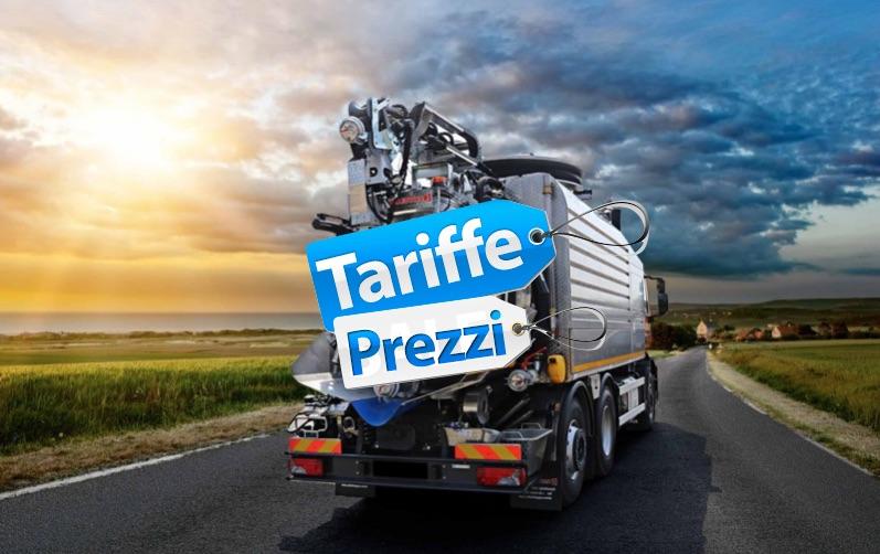 Prezzi Vuoto Fognature Autospurgo Toscana