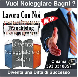 franchising noleggio bagni