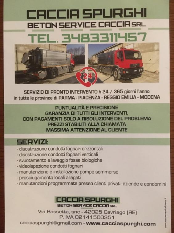 Autospurgo Reggio Emilia 24 su 24