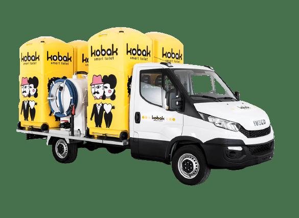 furgone Bagni chimici kobak